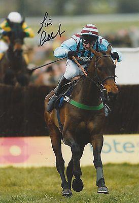Jim Culloty Hand Signed 12x8 Photo Best Mate Cheltenham Gold