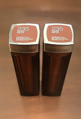2 Pack - Maybelline Colorsensational Lipstick #235 WARM ME UP New