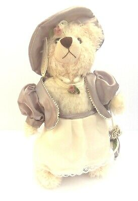 Miss Annabel Small Collectable Teddy Bear 24.5 CM with Stand