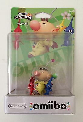 Bnwt Nintendo Wii U Pikmin   Olimar Amiibo Super Smash Bros Series Us Version