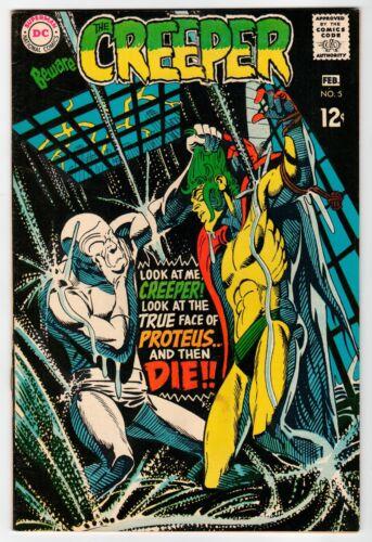 DC - THE CREEPER #5 - Ditko Cover & Art - VF Feb 1969 Vintage Comic