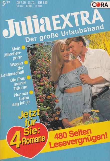 4 Romane / Julia Extra Band 160 / Der große Urlaubsband