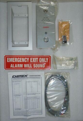NEW old stock Detex EA-2500F EXIT ALARM in original box w instructions