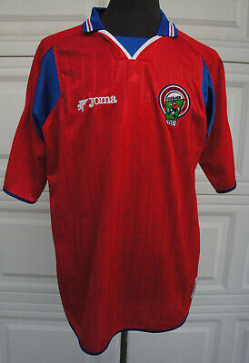 JOMA COSTA RICA Jersey ALAJUELENSE Saprissa Herediano 2002 World Cup Jersey L XL image