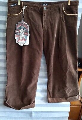 SALE! D & G Corduroy Pants Crop Pants Size 8 New With Tags Dolce (Dolce Gabanna Sale)