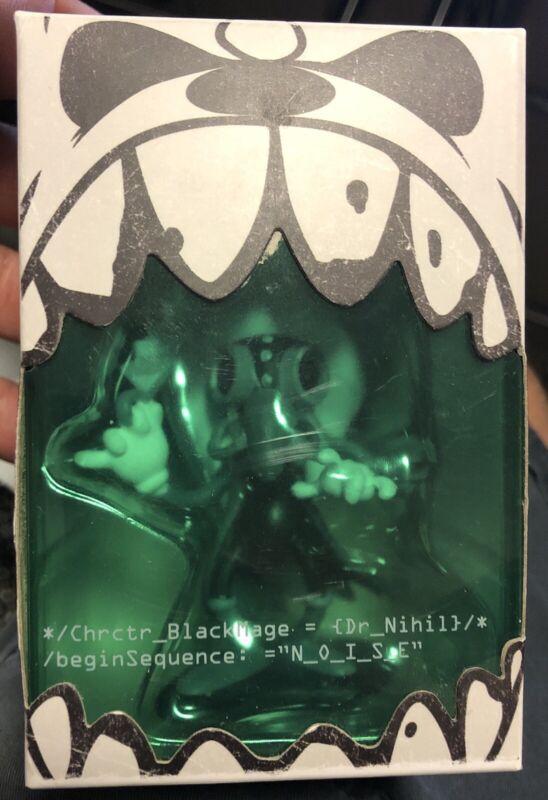 """RARE Ghostemane BlackMage 3"""" Dr. Nihil Bloodsplatter Vinyl Figure Toy N/O/I/S/E"""