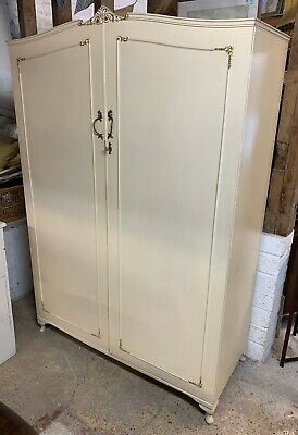 Vintage French Louis Style Double Wardrobe