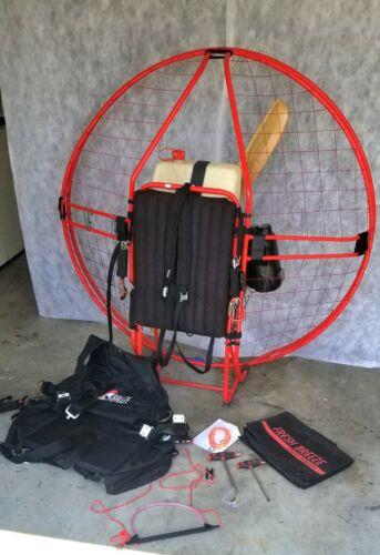 "Paramotor - Fresh Breeze Simonini 122, Two Ring Cage, Walbro Carb, 48"" Wood Prop"