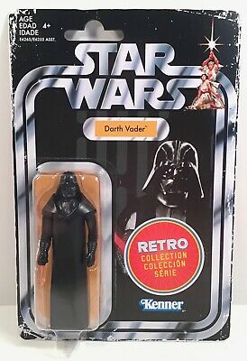 Star Wars Retro Collection Darth Vader 3.75 2019 New Hope Vintage style Kenner