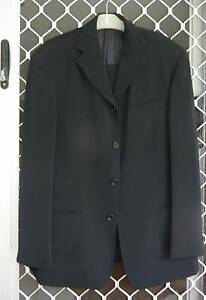 Mens Suit - Black fully lined Newstead Brisbane North East Preview
