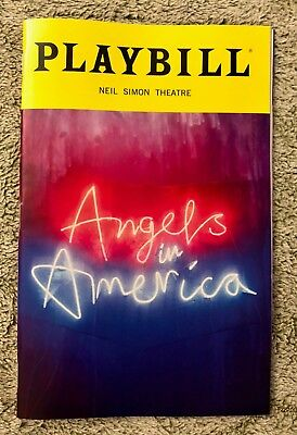 Angels in America - Broadway *Andrew Garfield Nathan Lane *Free Delivery & Gift*