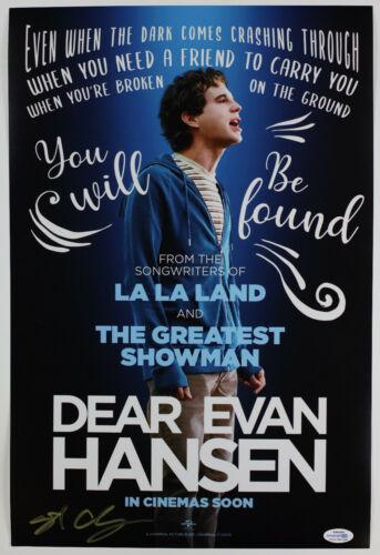 Stephen Chbosky Director Signed 'Dear Evan Hansen' 12x18 Photo EXACT Proof ACOA
