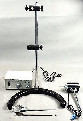 Electric Overhead Stirrer Mixerheight Adjustable Drum Mix Biochemical Laboratory