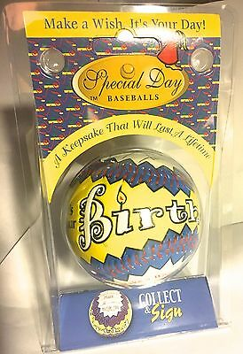 BASEBALL Happy Birthday Ball  Personalize  Baseballs  NEW  GREAT GIFT!  Boy Girl