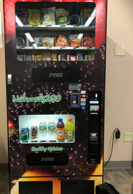 COMBO HEALTHY VENDING MACHINES BY FORTUNE Good working order