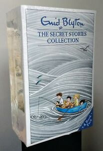 NEW ENID BLYTON THE SECRET ISLAND STORIES 4 BOOK CHILDREN'S COLLECTION SET