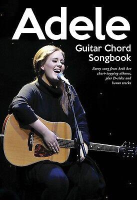 ADELE GUITAR CHORD & LYRICS SHEET MUSIC SONG BOOK
