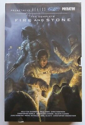 The Complete Fire and Stone Prometheus Aliens Alien Vs. Predator NEW Box Set