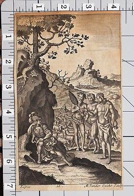 Aufdruck Vander Gucht Mythologie Griechische Faun Harfe (Faun Griechischen Mythologie)