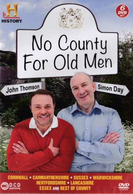No County for Old Men (DVD, 2013, 6-Disc Set, Box Set) NEW ITEM