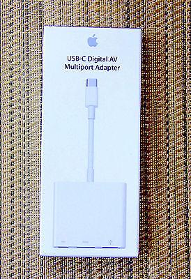 Genuine Apple USB-C Digital AV Multiport Adapter for MacBook - NEW