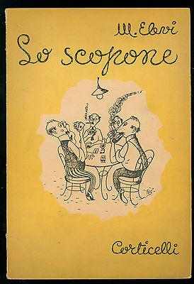 ELEVI M. LO SCOPONE CORTICELLI 1950 GIOCHI CARTE SCOPA
