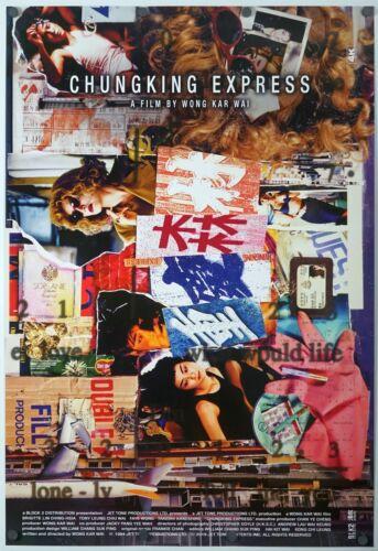 Chungking Express original DS movie poster 27x40 INTL Rerelease 4K Wong Kar Wai