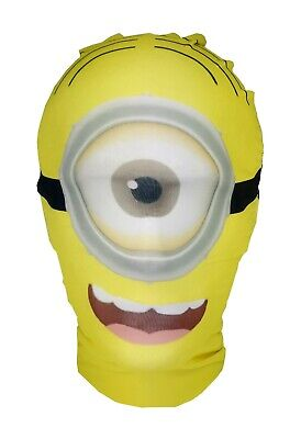 Minions Stuart Mask - Despicable Me Movie - Halloween Costume- Non Official