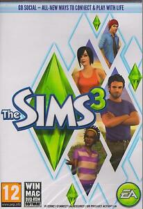 The Sims 3 III (Original Factory New Sealed for PC & MAC Game)