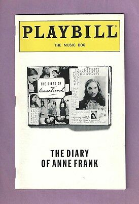 NATALIE PORTMAN in THE DIARY OF ANNE FRANK on Broadway with GEORGE HERN 1998