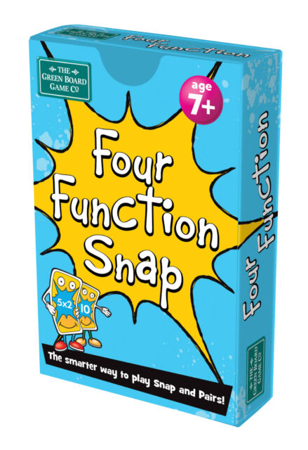 Maths Brainbox Card Game Four Function Age 7 Snap and Memory Pairs ...