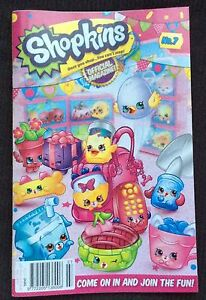 SHOPKINS MAGAZINE ISSUE 7 STILL HAS POSTER INTACT INSIDE Para Hills Salisbury Area Preview