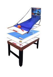 Hathaway Accelerator 4-in-1 Multi-Game Table, 54-Inch