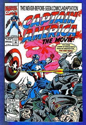 CAPTAIN AMERICA The Movie Special - Marvel 1992 (vf)  (Captain America 1992 Movie)