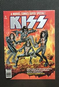 KISS rock band / Marvel comics Super Specials & 1st appear.