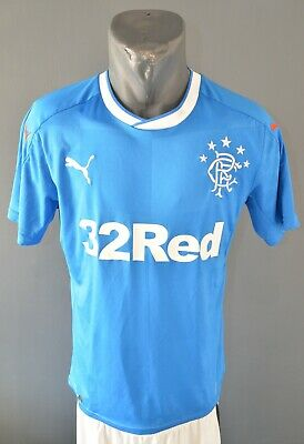 Glasgow Rangers Jersey 2017/2018 Home Football Soccer Mens Shirt Size S 5/5 image
