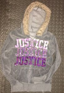 Girl's Justice Hoody size 14