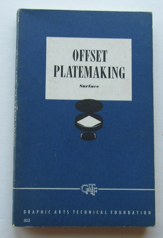 Offset Platemaking Surface July 1961