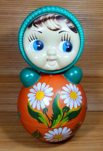 VINTAGE 40cm GIANT ROLY-POLY 1980