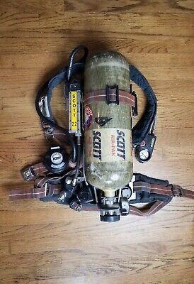 Scott 2.2 Air Pack Scba Harness With 2216 Tank - Ez Flo Regulator Vibralert