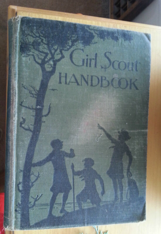 1930 Girl Scout Handbook Lexington Avenue New York