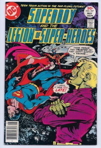 Superboy Legion of Super Heroes 227 NM 9.4 Bronze Age