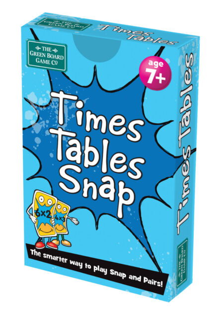 Times Table Snap + Pairs Card Game - BrainBox - Maths Learning Resource