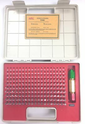 Pro-series 190 Piece .061-.250 Pin Gage Set With Certificate 4101-0041