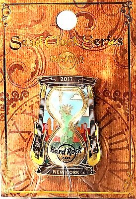 Hard Rock Cafe New York 2017 Sand Clock Series Pin Hourglass Time HRC LE New