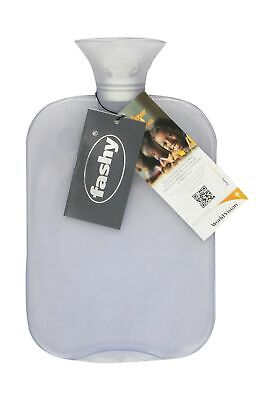 Transparent Classic Hot Water Bottle - Made in (Transparent Classic Hot Water Bottle Made In Germany)