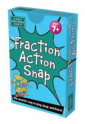 - Fraction Action Snap + Pairs Card Game BrainBox - Maths Learning Resource