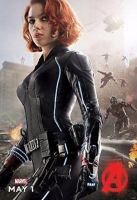 - Avengers 2 Age of Ultron Movie Poster (24x36) - Black Widow, Scarlett Johansson