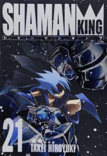 Hiroyuki Takei manga: Shaman King Kanzenban vol.21 Japan