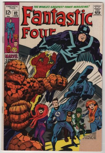 Fantastic Four 82 (1968 Marvel) GD+ Condition Inhumans Appearance